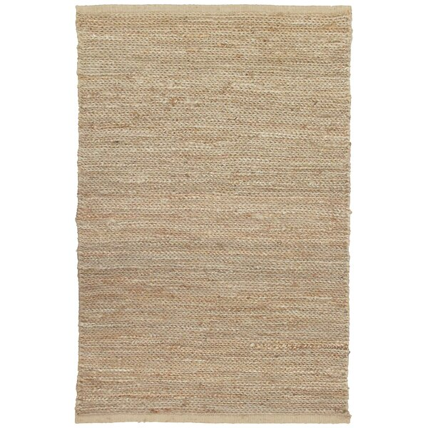 Soumakh Jute Natural Area Rug by Kosas Home