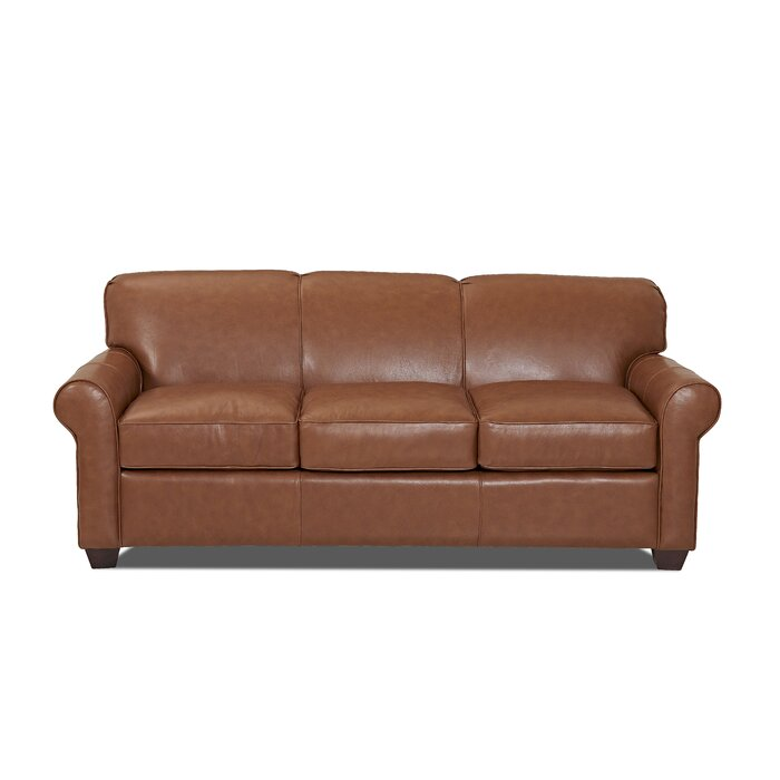 Jennifer Genuine Leather Sofa