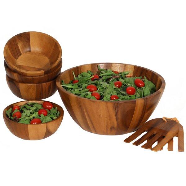 Jace 7 Piece Salad Bowl Set by Mint Pantry