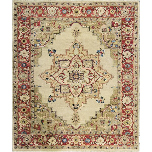Templeton One-of-a-Kind Hand-Knotted Wool Gold Area Rug by Bokara Rug Co., Inc.