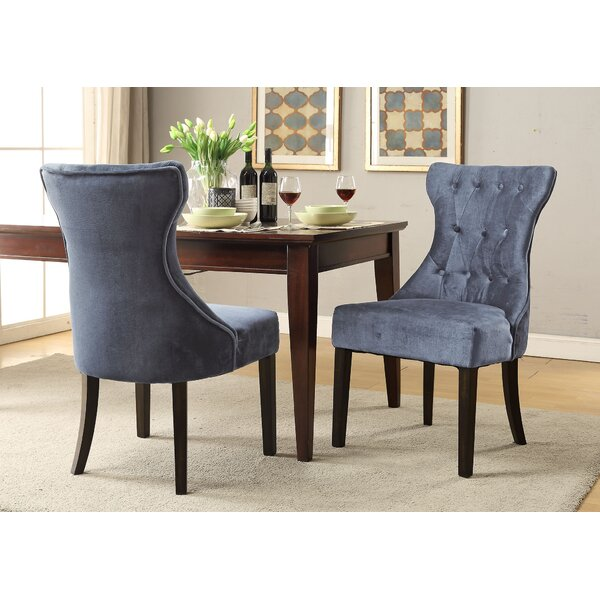 Delfin Upholstered Dining Chair (Set of 2) by Darby Home Co