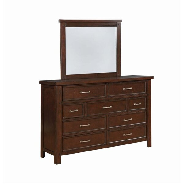 Ron Rectangular Dresser Mirror by Darby Home Co
