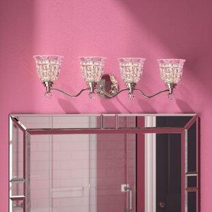 Best Price Eduard 4-Light Vanity Light ByWilla Arlo Interiors