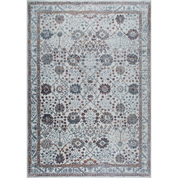 Kenmare Gray/Mauve Area Rug by Nicole Miller