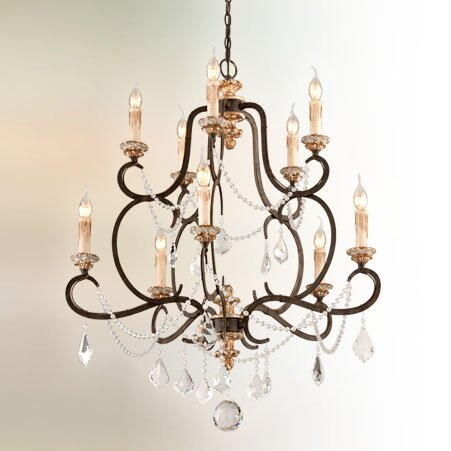 Beaman 10-Light Candle Style Tiered Chandelier by Astoria Grand Astoria Grand