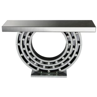 Stanley Mirrored Console Table