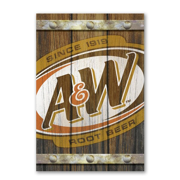 A&W Faux Fence Slats Wall Décor by PB