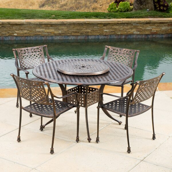 York 6 Piece Dining Set by Darby Home Co