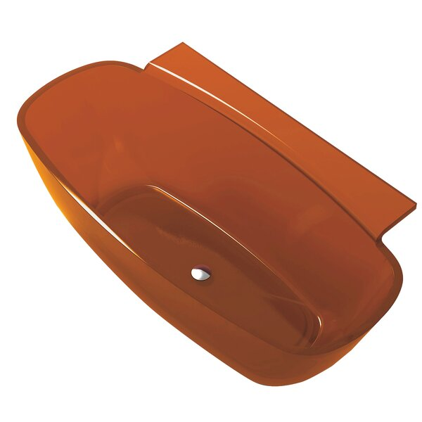 Vida 62 x 32 Freestanding Soaking Bathtub by ANZZI
