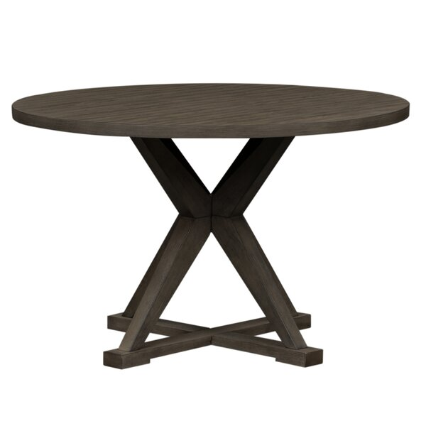 Altheimer Round Pedestal Dining Table by Gracie Oaks Gracie Oaks