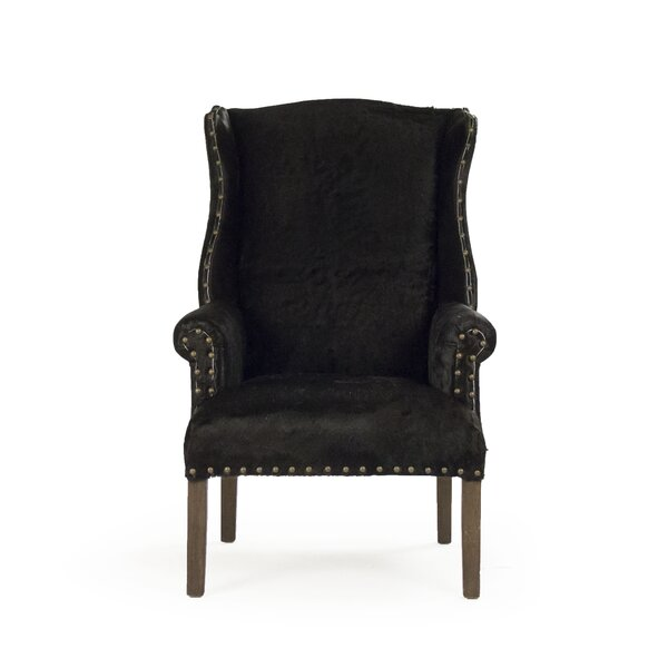 Douthitt Wingback Chair by Canora Grey