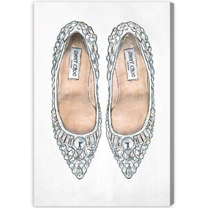 Make Cinderella Jealous Graphic Art on Wrapped Canvas by House of Hampton