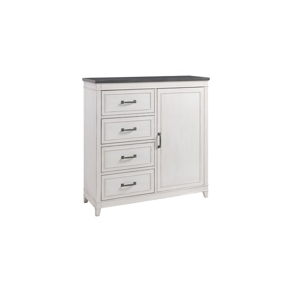 Del Mar 4 Drawer Combo Dresser By Alcott Hill by Alcott Hill #1