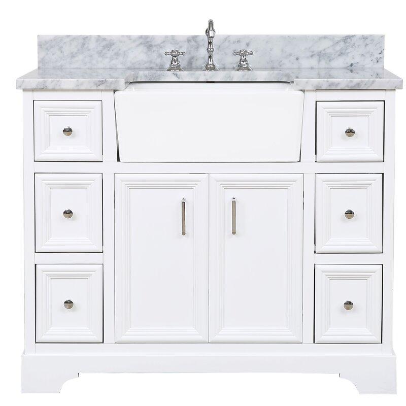 """Zelda 42"""" Bathroom Vanity Set"""