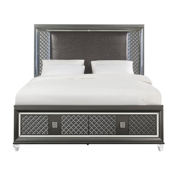 Sams Upholstered Storage Platform Bed by Everly Quinn