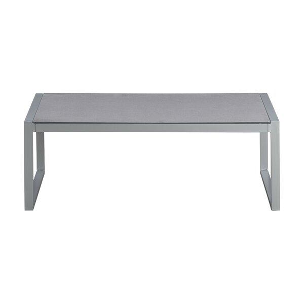 Tropez Metal Coffee Table by Elle Decor