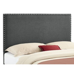 Norden Upholstered Panel Headboard by Alcott Hill