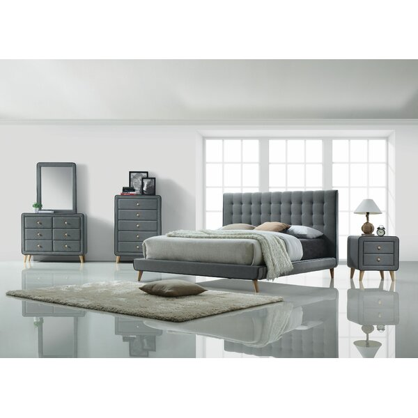 Lonan Panel Configurable Bedroom Set by Wrought Studio