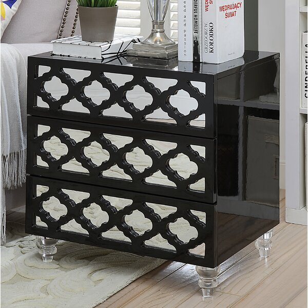 Botelho 3 Drawer Nightstand by Rosdorf Park