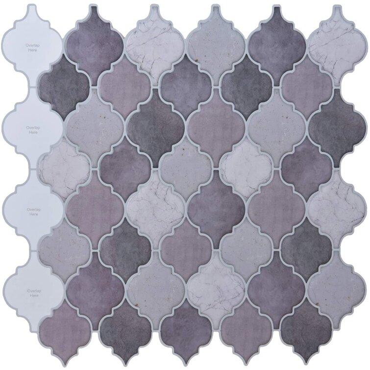 "12"" x 12"" Gel Peel & Stick Mosaic Tile"