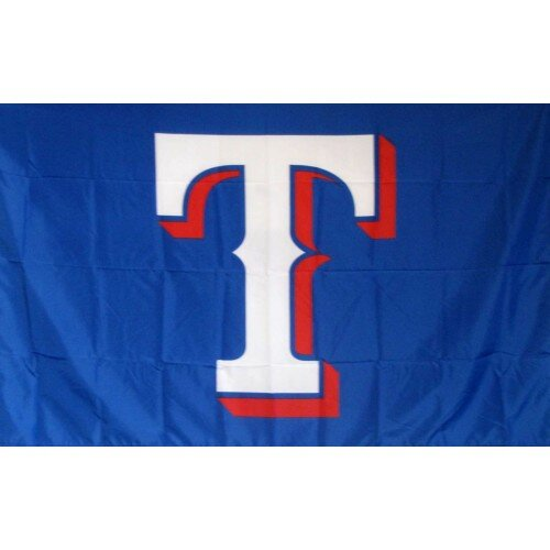 Texas Rangers Polyester 3 x 5 ft. Flag by NeoPlex