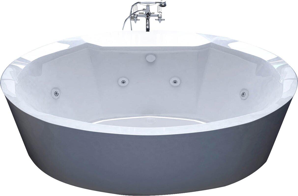 Luxury Acrylic Bathtubs Pros And Cons Illustration - Bathroom and ...