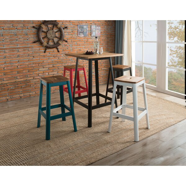 Senna 5 Piece Pub Table Set by 17 Stories