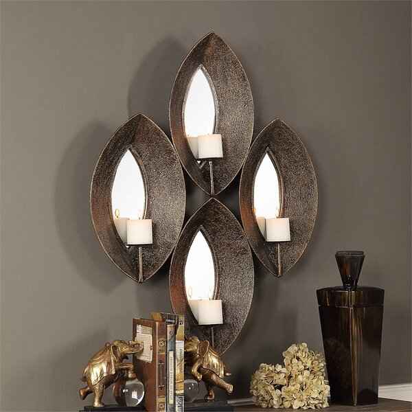Antique Metal Sconce by Red Barrel Studio