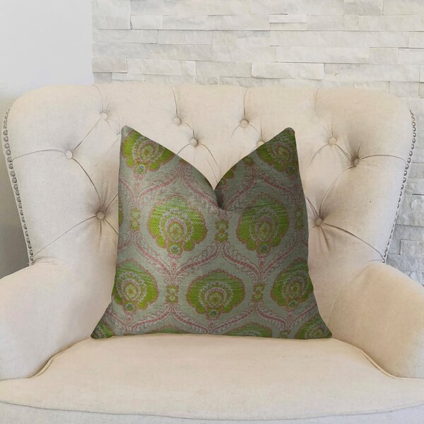 Tulip Handmade Throw Pillow by Plutus Brands