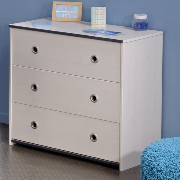 Raffa 3 Drawer Bachelors Chest by Harriet Bee