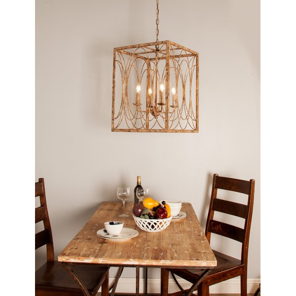 Cawston Candle Style Square / Rectangle Chandelier by Ophelia & Co. Ophelia & Co.
