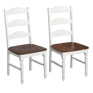 Great Price Fleurance Side Chair (Set of 2) By August Grove