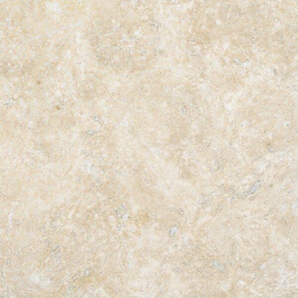 Durango 18 x 18 Travertine Field Tile in Honed Cream by MSI