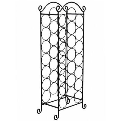 Weinregal für 21 Fl.   Küche und Esszimmer > Küchenregale > Weinregale   Metall   Home Etc