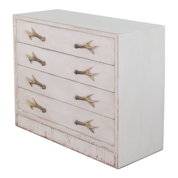 4 Drawer Accent Chest By Sarreid Ltd