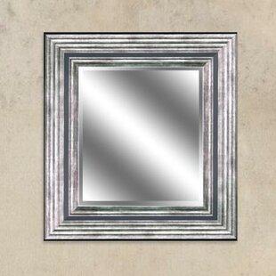 Williston Forge Moulton Silver Reflection Beveled Wall Mirror