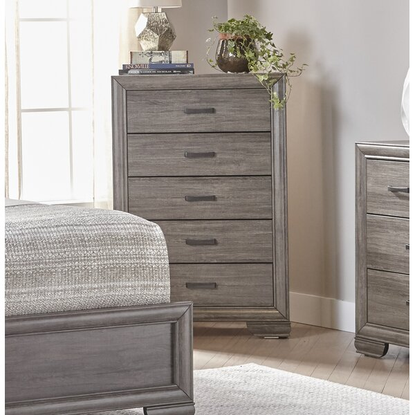 Chicora 5 Drawer Chest by Ophelia & Co.