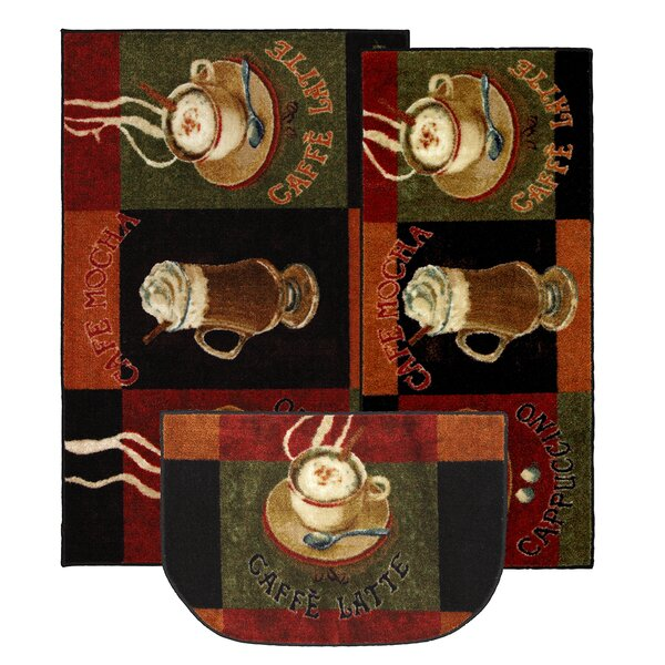 Lemasters 3 Piece Kitchen Caffe Latte Area Rug Set by Winston Porter