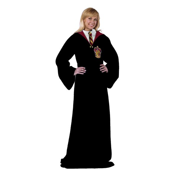 Harry Potter - Hogwarts Rules Fleece Throw by Northwest Co.