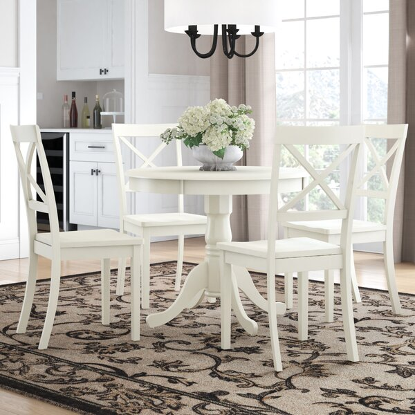 Avera 5 Piece Dining Set by Charlton Home