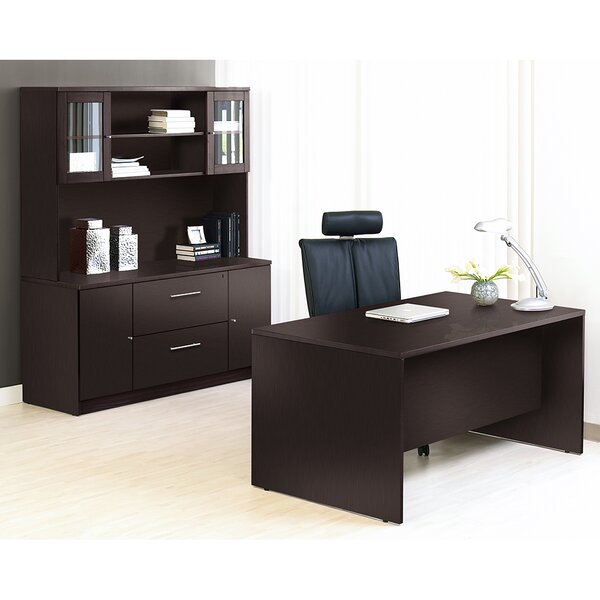 Pro X 4 Piece Desk Office Suite by Haaken Furniture