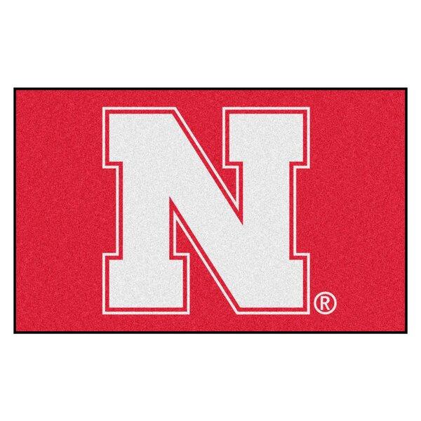 Collegiate NCAA University of Nebraska Doormat by FANMATS