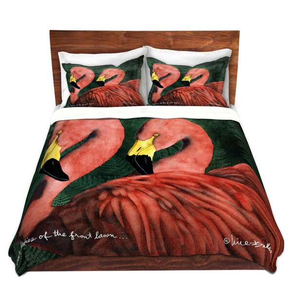 Our Ladies Of The Front Lawn Duvet Cover Set