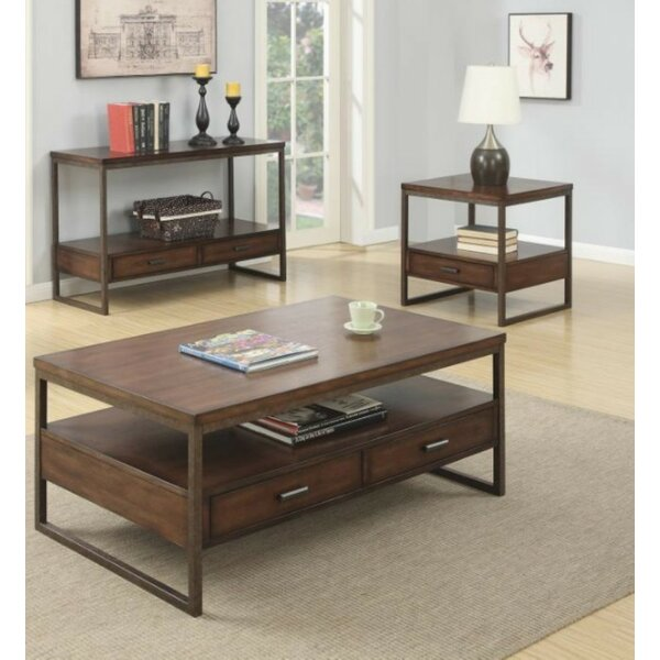 Laurel 3 Piece Coffee Table Set by Foundry Select