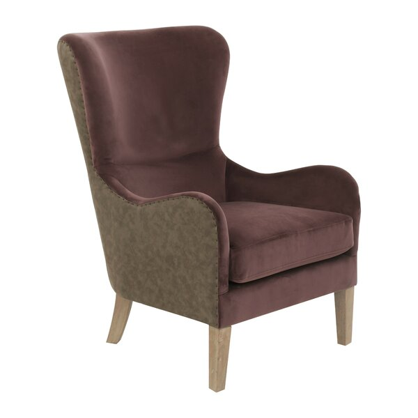 Elle Wingback Chair by Elle Decor Elle Decor