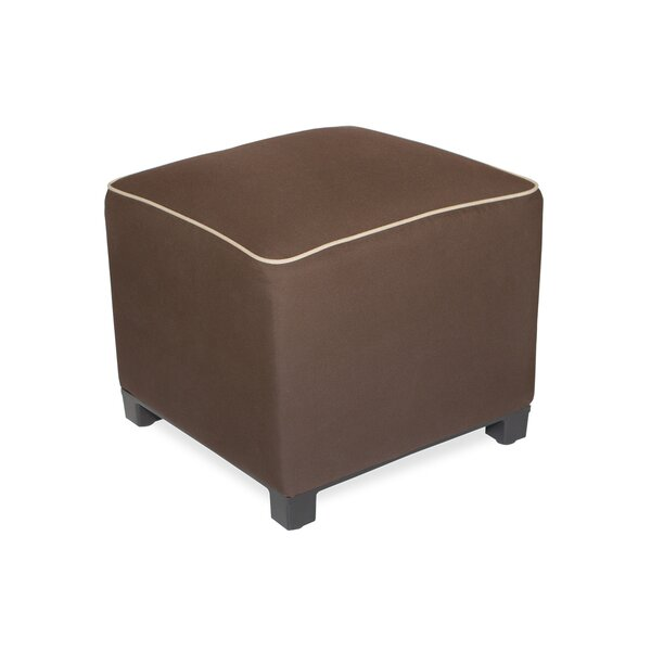 Upholstered Outdoor Ottoman with Sunbrella Cushions by Inspired Visions