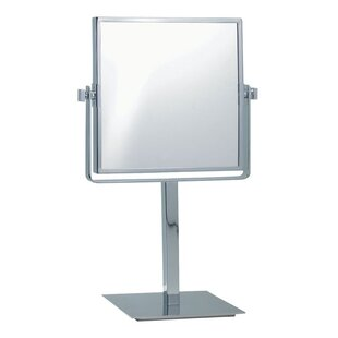 Best Price Free Standing Makeup Mirror By Glimmer by Nameeks