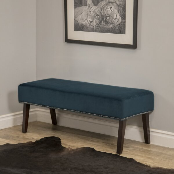 Wadena Upholstered Bench by House of Hampton