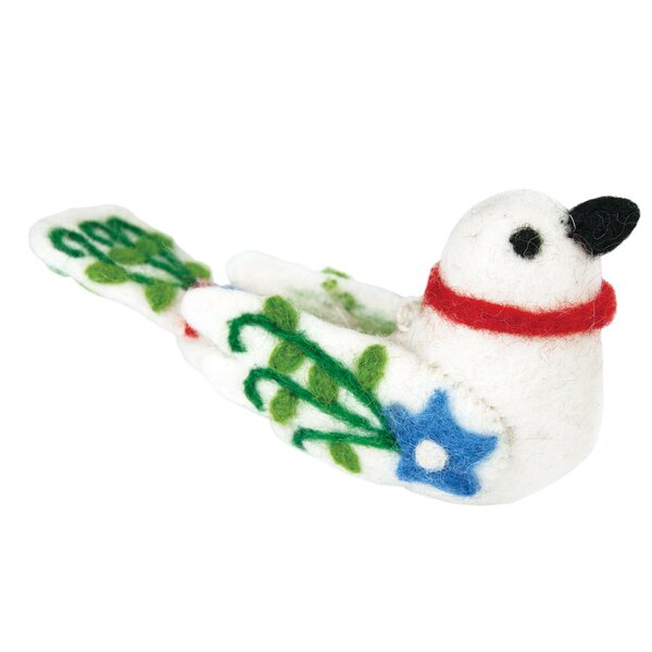 Lovebird Hanging Figurine by The Holiday Aisle