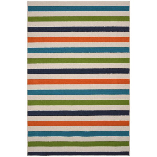 Summer Blue/Green Area Rug by Garland Rug